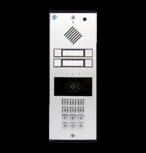AA-546 Video citofono con tastiera lettore rfid 4 tasti